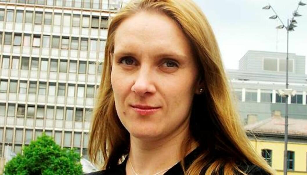 Eva Grønseth er journalist og konserntillitsvalgt i A-pressen. Foto: Kathrine Geard