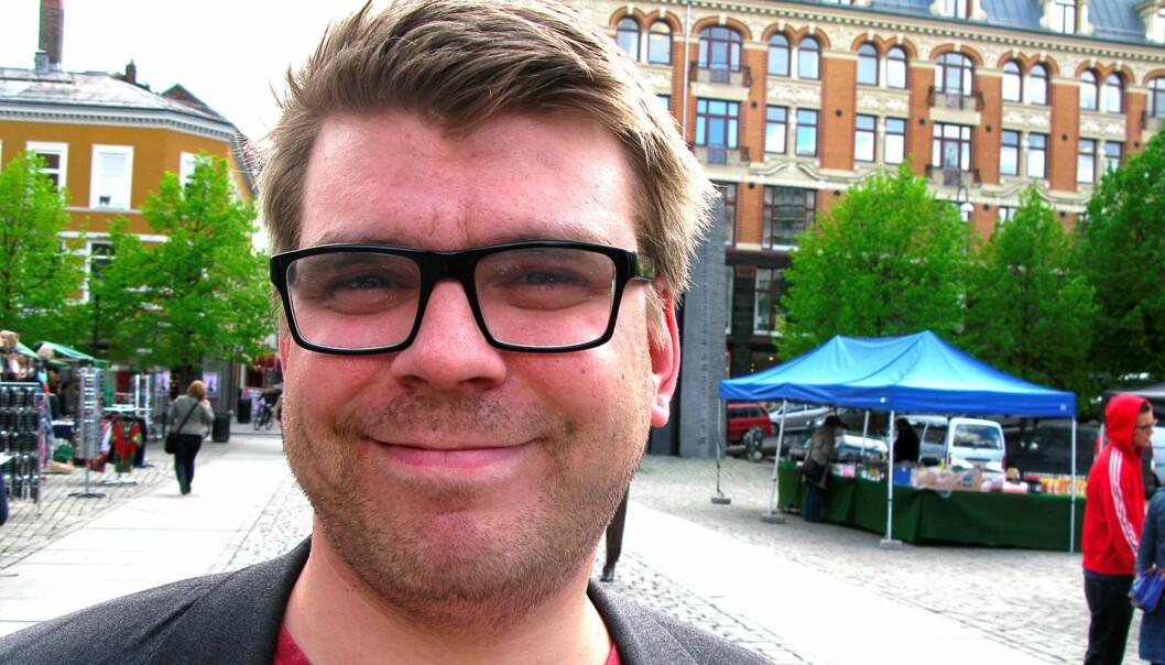 Sigvald Sveinbjørnsson. Foto: Martin Huseby Jensen