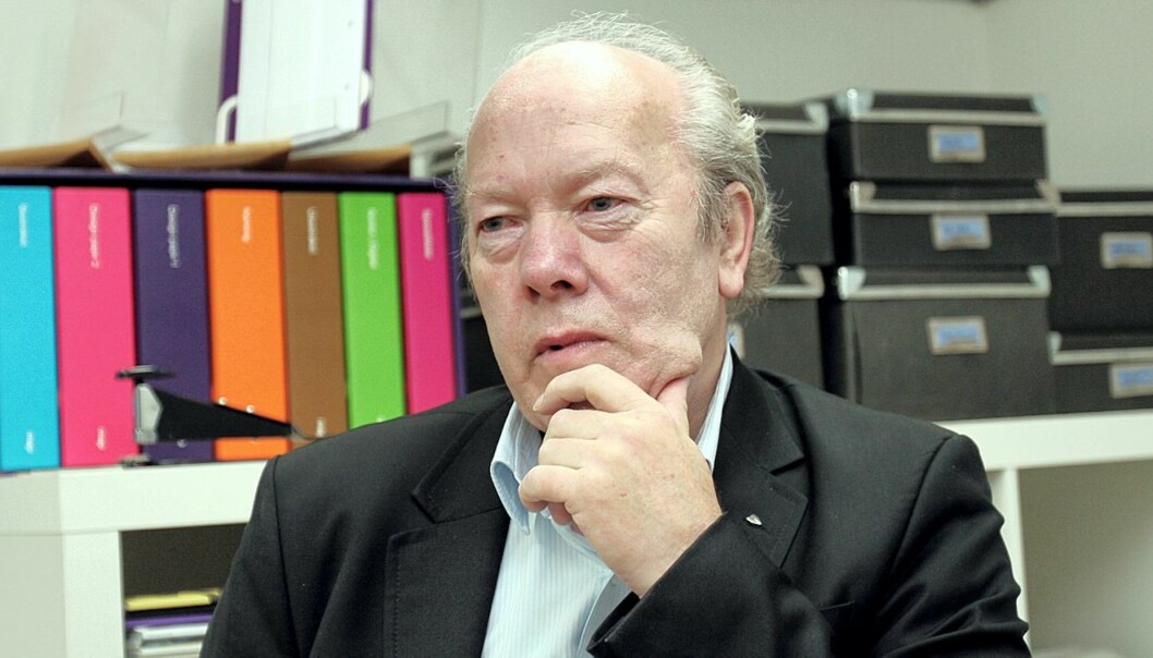 Nils E. Øy. Foto: Birgit Dannenberg