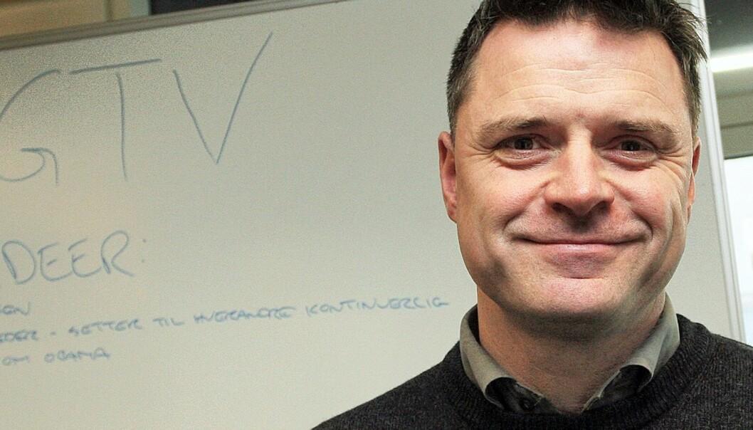 Espen Egil Hansen vil satse mer på CoveritLive. Foto: Birgit Dannenberg