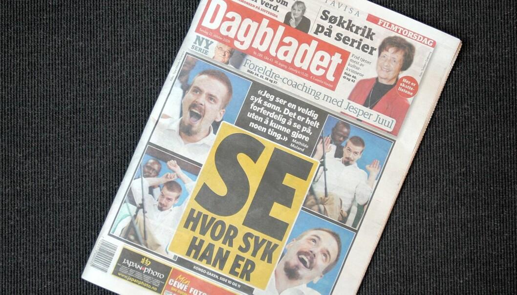 Dagbladet 22.10.2009.