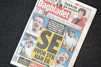 Opprør mot Dagblad-forside