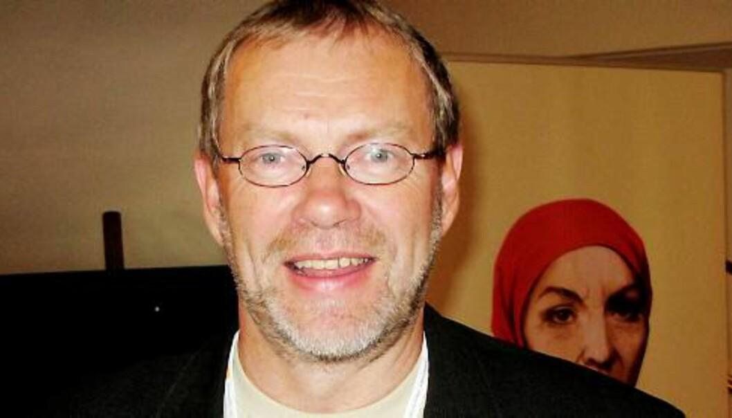Arne Blix i Adresseavisen. Foto: Martin Huseby Jensen