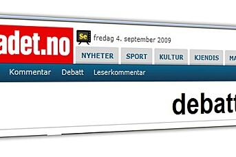 Dagbladet innfører betaling på debatten