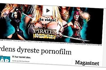 Dagbladet tester porno