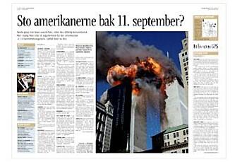 911-konspirasjon i Aftenbladet