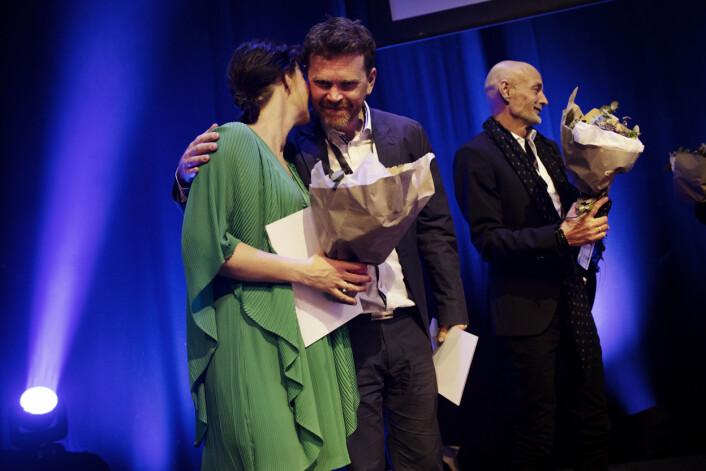 NRK Urix, «Mirakelgutten Tomas» og«Jakten på Thunder» fikk hederlig omtale. IR-prisen. Foto: Andrea Gjestvang