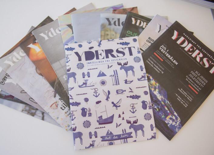Magasinet Yderst har eksistert siden 2013 – først som ultralokal avis for Bø, nå som magasin for hele Vesterålen.