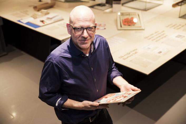Trond Haugen, forskningsbibliotekar ved Nasjonalbiblioteket. Foto: Rami Tayeh