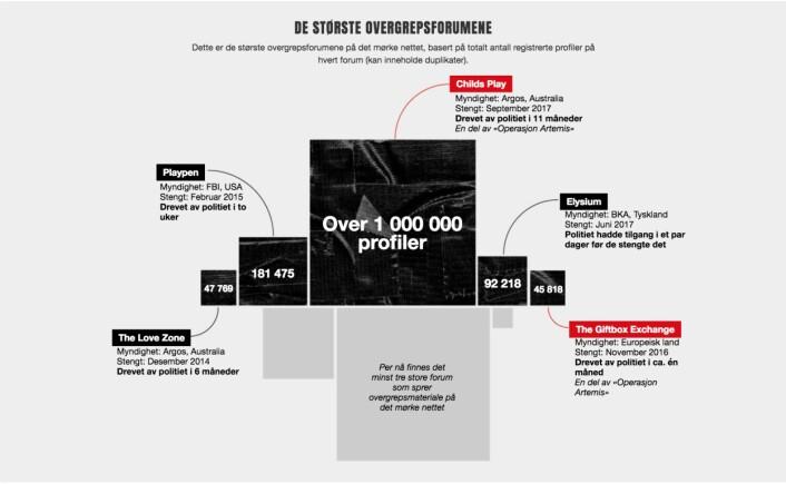VG brukte grafikk og illustrasjoner i presentasjonen av saken. Faksimile: VG