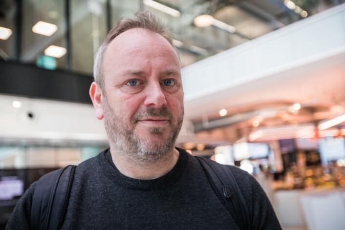Lars Nyretror ikke at ingen lengerkan styre den teknologiske utviklingen. Foto: Otto von Münchow