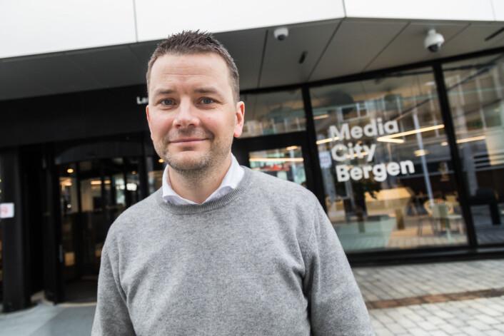 Sjefredaktør Øyulf Hjertenes i Bergens Tidende er overbevist om at ny teknologi vil berike journalistikken. Foto: Otto von Münchow