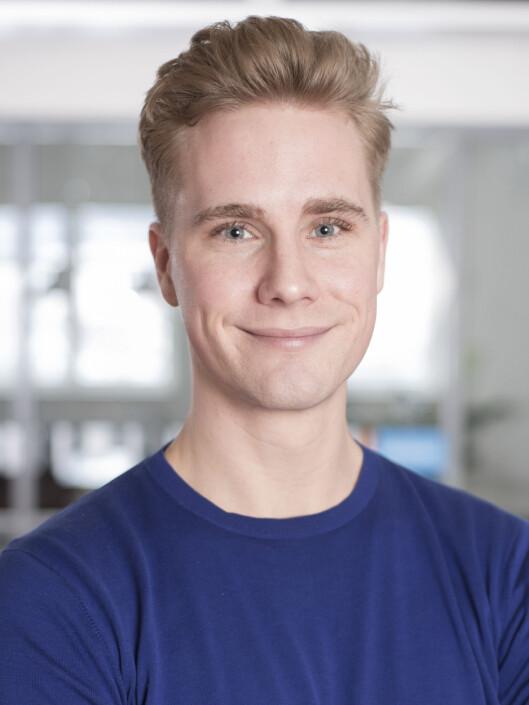 Assisterende analysesjef i Retriever,<br>Sigmund Wøien.