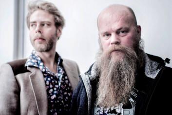 Henrik Evertsson og Jørn Norstrømp har laget Rasekrigerne. Foto: Kamilla Marie Johnsen
