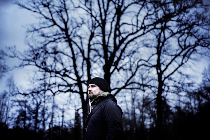Håkon Forwald, norsk medlem i bevegelsen, er en av DNM-medlemmene som er intervjuet. Foto: Henrik Evertsson