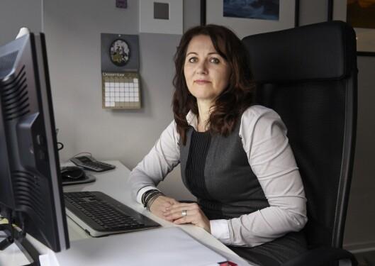 Reidun Kjelling Nybø, assisterende generalsekretær i<br>Norsk Redaktørforening. Foto: Birgit Dannenberg