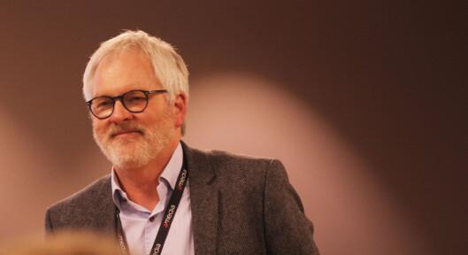 Amedia-direktør Stig Finslo klaget inn Resett med samtykke fra<br>OA-redaktøren. Foto: Martin Huseby Jensen