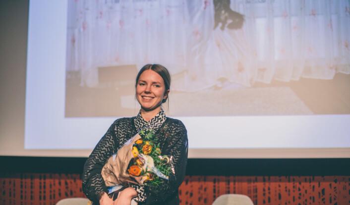 Katinka Hustad vant årets bilde. Foto: Marte Vike Arnesen