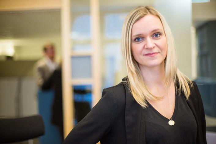 Det er viktig at leserne våre får en premium følelse når de leser sakene våre, sier Sjef i VG+ Ellen Limstrand. Foto: Marte Vike Arnesen.