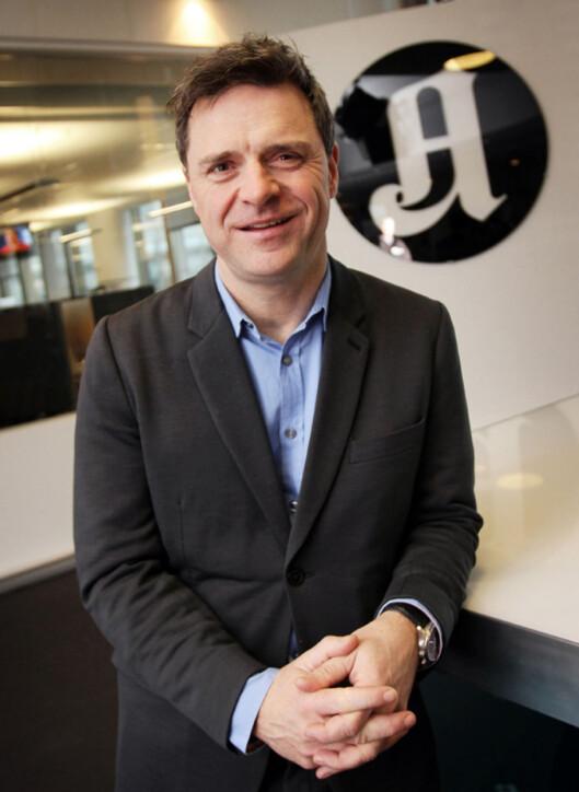Sjefredaktør i Aftenposten, Espen Egil Hansen.<br>Arkivfoto.