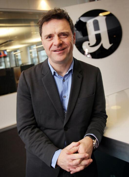 Sjefredaktør i Aftenposten, Espen Egil Hansen.<br>Foto: Birgit Dannenberg