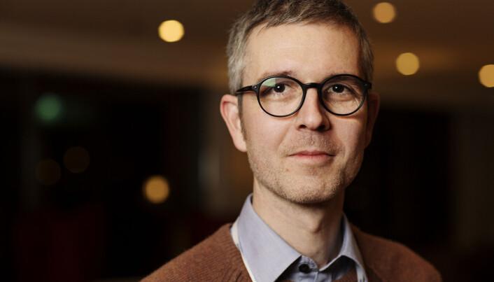Stein Nervik, Journalist i Namdalsavisa på Hellkonferansen 2018. Foto: Andrea Gjestvang