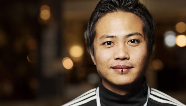 Nareas Sae-Khow, journalist i NRK Trøndelag på Hellkonferansen. Foto: Andrea Gjestvang