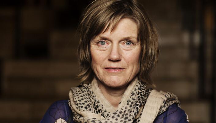 Sigrid Gjellan,regionredaktør for NRK Trøndelang på Hellkonferansen 2018. Foto: Andrea Gjestvang