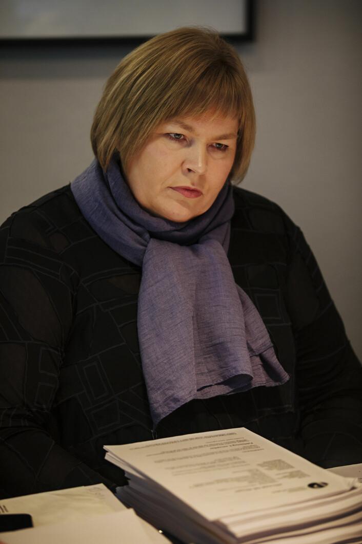 Generalsekretær i Norsk Presseforbund,<br>Elin Floberghagen. Foto: Andrea Gjestvang