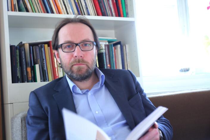 Fotosjef i DN, Jan Johannessen synes ikke det er interessant om det frilansere eller faste som vinner priser for DN. Arkivfoto: Martin Huseby Jensen