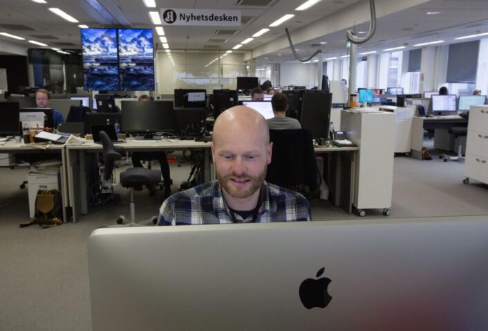 Torbjørn Grønning er opptatt av at fotografer og videojournalister deltar i hele den journalistiske prosessen, fra idé til ferdig resultat. Foto: Torgeir Strandberg