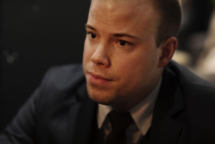 Marius Løken overlevde 20 knivstikk da hans venn ble drept på Bislett i 2013. Foto: Andrea Gjestvang