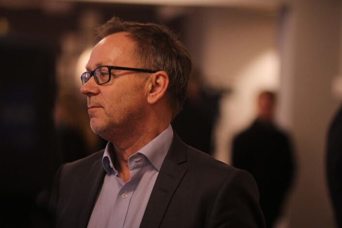 John Arne Markussen mener det bør være en høy terskel for å slette artikler eller gjøre endringer i dem. Arkivfoto: Martin Huseby Jensen
