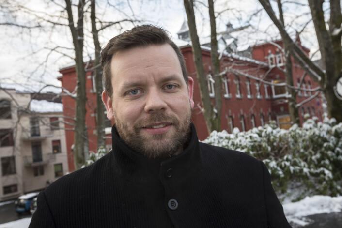 Det er vanskeligere å peke på en leges ekspertise enn på en journalists, mener Morten Kronstad. Foto: Otto von Münchow