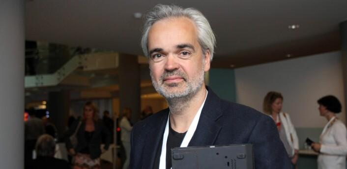 Eivind Ljøstad er sjefredaktør i Fædrelandsvennen. Arkivfoto Journalisten
