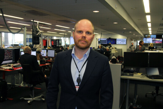 Sjefredaktør i VG, Gard Steiro. Arkivfoto: Glenn Slydal Johansen