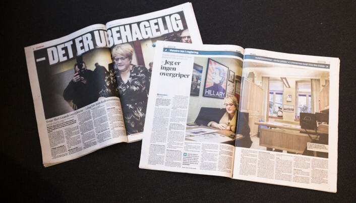VG og Aftenposten har intervjuet Skei Grande om ryktene som blant annet handler om seksuelle overgrep. Foto: Kristine Lindebø