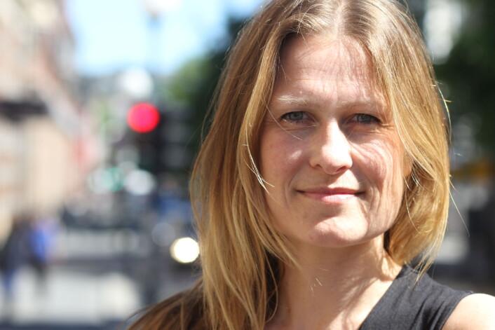 Kristine Foss i Norsk Presseforbund. Arkivfoto: Journalisten