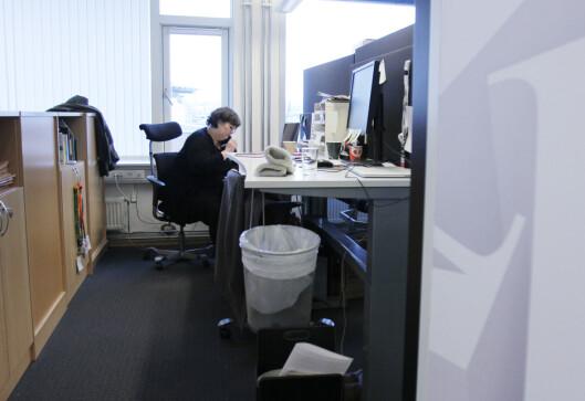 Politisk redaktør Berit Strøyer Aalborg i Vårt Land.Foto: Martin Huseby Jensen