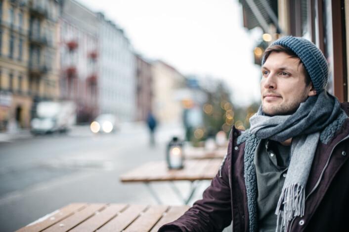 Sindre Leganger ble kåret til årets frilanser i år. Foto: Marte Vike Arnesen
