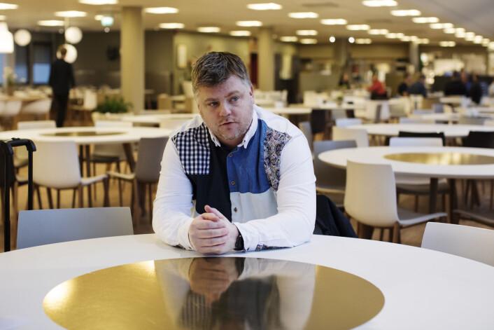 NRKJs leder Richard Aune sier at mange medlemmer reagerer med tilbakemeldinger til ham. Foto: Andrea Gjestvang