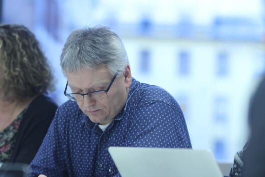 Håkon Okkenhaug følger NJs økonomi tett.<br>Foto: Martin Huseby Jensen