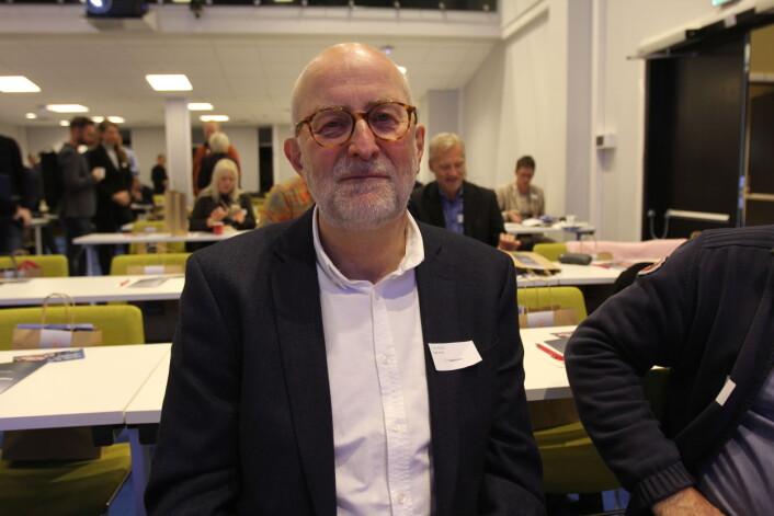 Styreleder Erik Nord i Fagpressen. Foto: Glenn Slydal Johansen