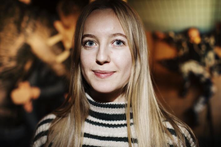 Hanna Hjardar. Foto: Andrea Gjestvang