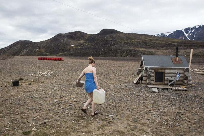 Marte Stensland Jørgensen vikarierte som fangstmann i 19 dager - og dokumenterte livet i ødemarken. Foto: Marte Stensland Jørgensen