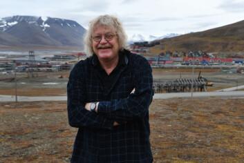 Per-Anders Rosenkvist har et nært forhold til Svalbard. Foto: Hilde Kristin Røsvik