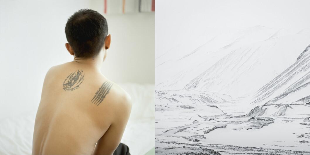 – At kontrastene var så store mellom det varme Thailand og det arktiske Svalbard, gjorde dette temaet svært interessant for meg, forteller Geving. Foto:Hanne Dahl Geving