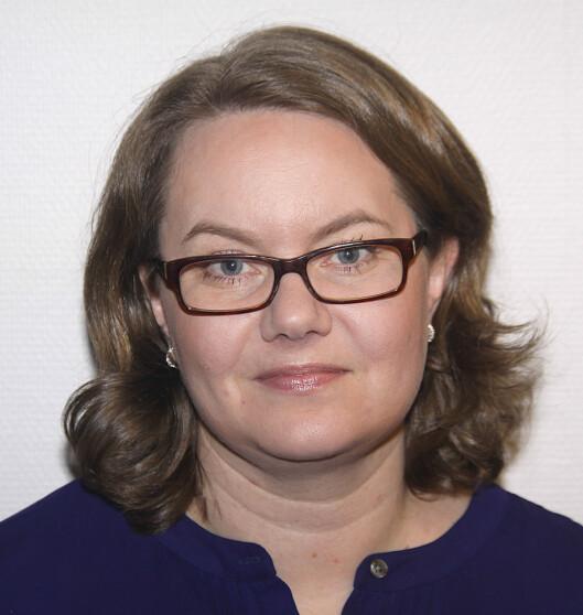 Anne Marie Aarøen Vagsnes en av<br>lokaljournalistene som fra nå av skal<br>fylle sin del av sidene til Framtida<br>Junior.