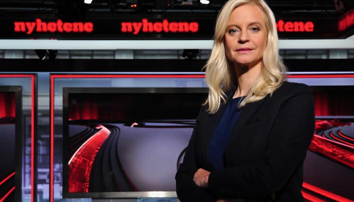 Nyhetsredaktør Karianne Solbrække i TV 2. Foto: TV 2