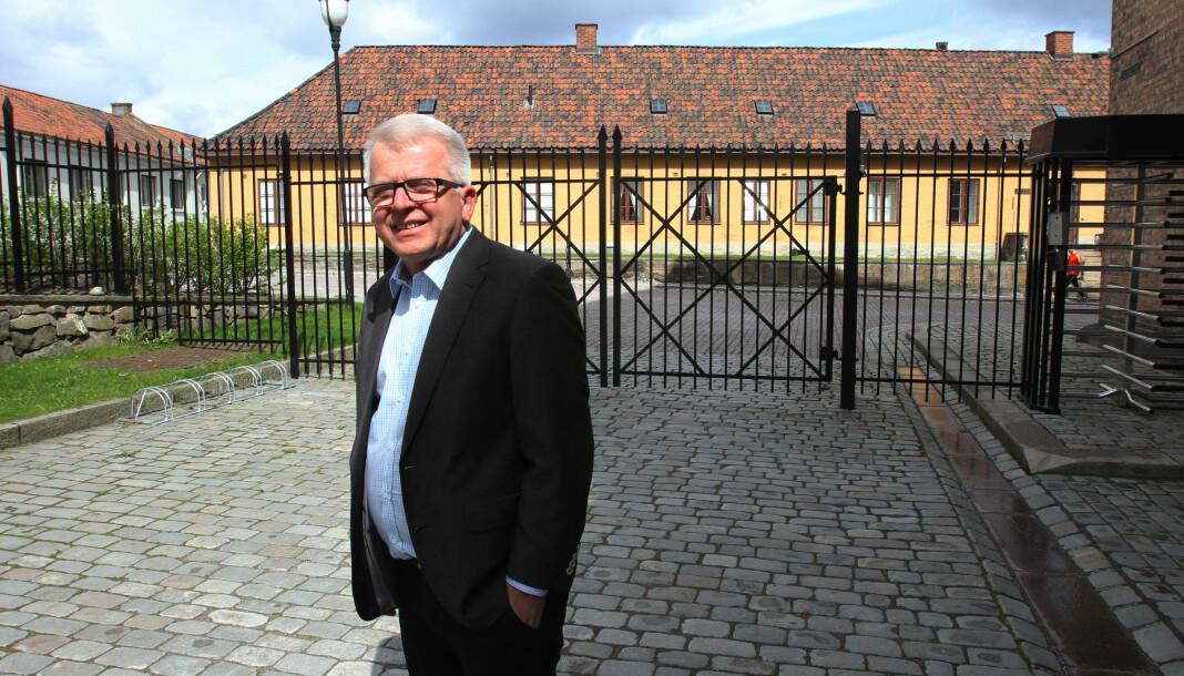 Ansvarlig redaktør Tor Eigil Stordahl i Forsvarets forum går nå av med pensjon.